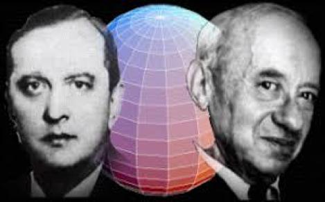 Stefan Banach y Alfred Tarski